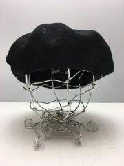 chirk beret/ベレー帽/--/ウール/BLK
