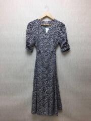 7分袖ワンピース/2/ポリエステル/マルチカラー/20269650