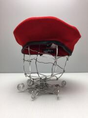 WOOL MONTY/0248HT/ベレー帽/XL/アンゴラ/RED