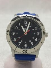 クォーツ腕時計/アナログ/ラバー/NVY/BLU/CA.80.2.14.0712