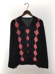 セーター(薄手)/3/ウール/ブラック