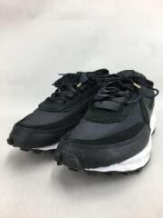 ローカットスニーカー/29.5cm/ブラック/靴/BV0073-002/メンズ/レースアップ/黒
