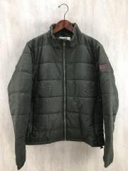 中綿ジャケット/メンズ/L/ポリエステル/KHK/エーグル