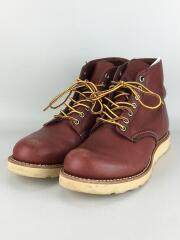 ブーツ/US7/ブラウン/9105/プレーントゥ