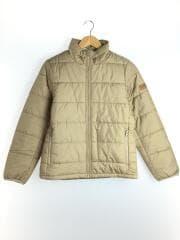 ZBF001F/キルティングジャケット/M/ポリエステル/BEG/ベージュ/アウトドア