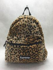 17AW/Leopard Fleece Backpack/シュプリーム/レオパードフリースバックパック