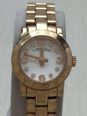 Amy Dinky/MBM3227/クォーツ腕時計/アナログ/ゴールド/マークバイマークジェイゴブス