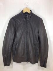 シングルライダースジャケット/S/ブラウン/NUC23LO248GL/山羊革