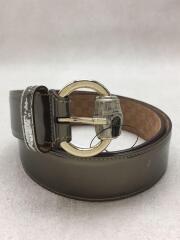189800/ベルト/レザー/GLD/無地/メンズ/85cm/34インチ