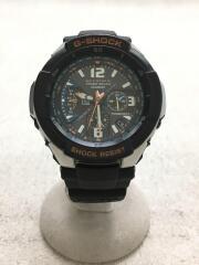 ソーラー腕時計・G-SHOCK/アナログ/ラバー/NVY/BLK/GW-3000M-4AJF