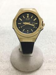 ソーラー腕時計/アナログ/ラバー/ベルト:ネイビー/文字盤:ネイビー/MSG-S500G