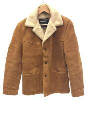 359US COW SPILIT RANCHER JACKET/36/牛革/キャメル/7452/USA製