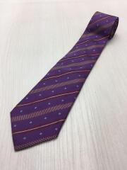 ネクタイ/シルク/紫/パープル/スーツ/リクルート/メンズ小物/服飾