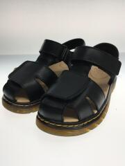 キッズ靴/19cm/サンダル/BLK