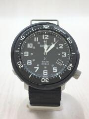 プロスペックスフィールドマスター/クォーツ腕時計/リストウォッチ/アナログ/キャンバス/ブラック