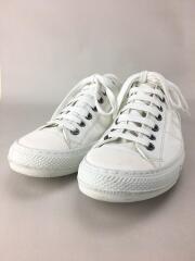 ローカットスニーカー/43/WHT/gommus/シューズ/キャンバス/靴/イタリア製/