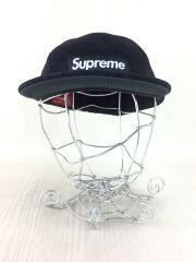ジェットキャップ/L/ブラック/黒/ボックスロゴ/ウール/帽子/