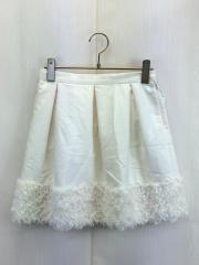 スカート/140cm/WHT