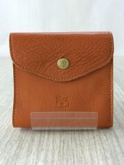 2つ折り財布/レザー/CML