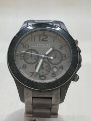 クォーツ腕時計/アナログ/グレー