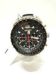 ソーラー腕時計/アナログ/ラバー/ブラック/V175-0CY0/PROSPEX
