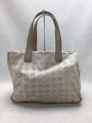 ニュートラベルライン/トートバッグ/ハンドバッグ/汚れ有り/キャンバス/鞄