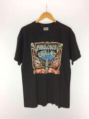 90S/00S/FABULOSOS CADILLACS/バンドTシャツ/L/コットン/BLK