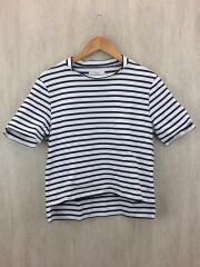 Tシャツ/38/コットン/ボーダー