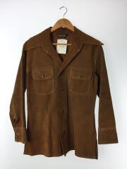OLD/Vintage/レザージャケット・ブルゾン/trailmaster/スウェード/BRW