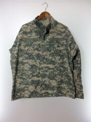ACUジャケット/American Apparel社/Large-Long/コットン/KHK/カモフラ