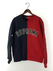 18AW/Split Sweatshirt/スウェット/M/コットン/マルチカラー