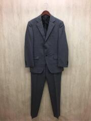スーツ/36/ウール/グレー/ストライプ