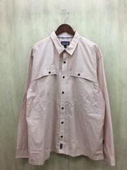 長袖シャツ/XL/コットン/マルチカラー/チェック