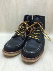チペワ/vibramソール/ブーツ/US9.5/BLK/レザー/中古
