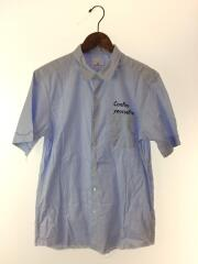 半袖シャツ/3/コットン/BLU/カットオフレギュラーカラーシャツ/中古