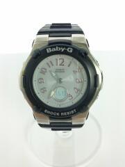 ソーラー腕時計・Baby-G/デジアナ/BGA-1100-2BJF/
