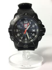 クォーツ腕時計/アナログ/ナイロン/BLK/BLK/AUTHORIZED FOR NAVY USE/4220