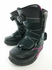 m120300201 スノーボードブーツ/24cm/ブラック/スノボ/ボア/m120300201