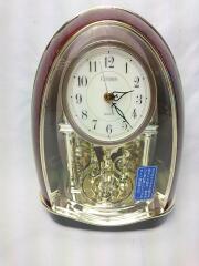 置時計/アナログ/BRW/秒針/飾り/4SG731-006/トリプルターン731/電池式