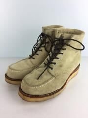 90295 SAND SUEDE 6inch Moc-Toe/US7.5/CRM/スウェード