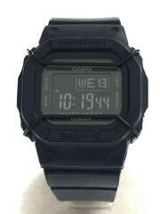 腕時計/デジタル/ラバー/BLK/BLK/BGD-501