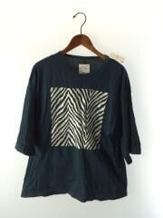 Tシャツ/1/コットン/BLK