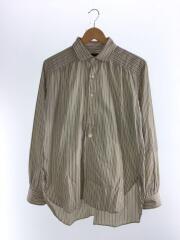 ラウンドカラーシャツ/FK179/XS/コットン/CRM
