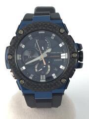 ソーラー腕時計・G-SHOCK/デジアナ/BLK//  G-STEEL