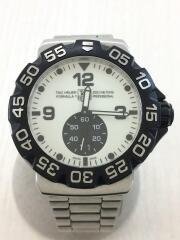 クォーツ腕時計/アナログ/WHT/ダイバーズ FORMULA1 フォーミュラ1