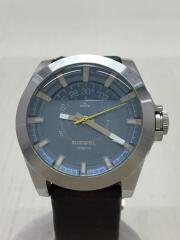 クォーツ腕時計/アナログ/レザー/DZ-1696