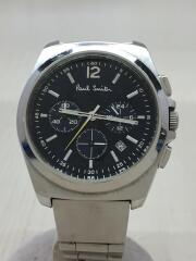 クォーツ腕時計/アナログ/BLK/0520-TT002161