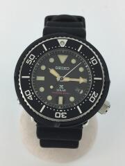 ソーラー腕時計/アナログ/ラバー/V147-0BG0