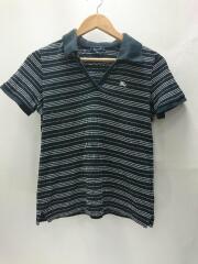 ポロシャツ/2/コットン/BLK/ボーダー