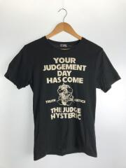 Tシャツ/your judgement day has come/S/コットン/BLK/0202CT24